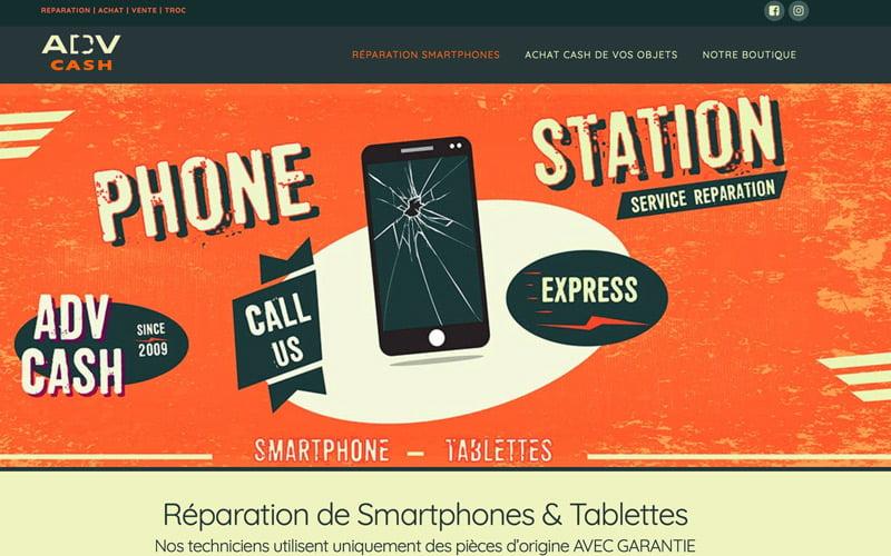 ADV Cash réparation smartphones